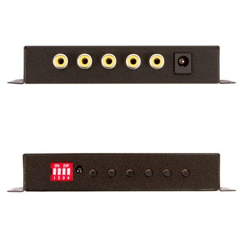 Автомобільний 4-канальний кольоровий відеоквадратор Прев'ю 2