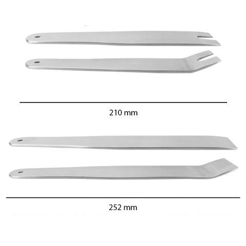 Car Trim and Panel Removal Tools Kit (Stainless Steel, 4 pcs.) Preview 1