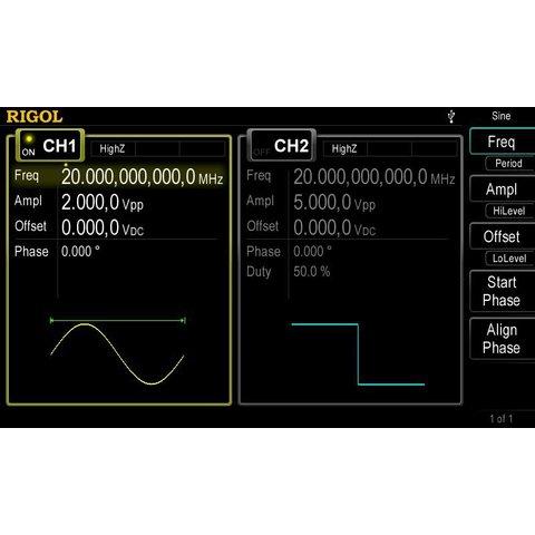 Универсальный генератор сигналов RIGOL DG4062 - Просмотр 4