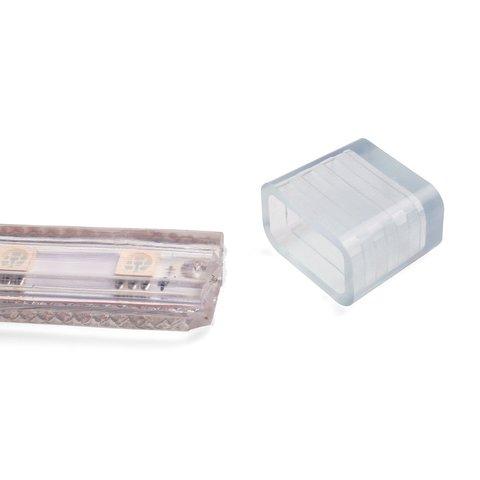 Заглушка для LED-стрічок Дюралайт (Duralight) IP67 (силікон, 13×7 мм) Прев'ю 4