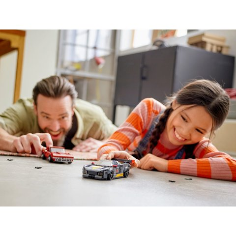 Конструктор LEGO Скоростные гонки Chevrolet Corvette 76903 Превью 9