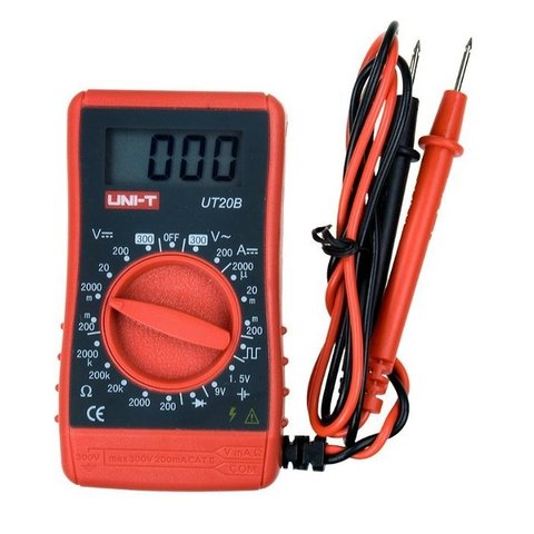 Pocket Digital Multimeter UNI-T UT20B Preview 3