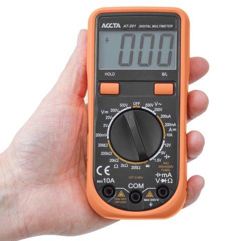 Digital Multimeter Accta AT-201 Preview 4